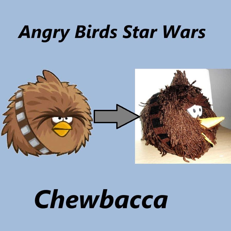 Angry Birds Star Wars Chewbacca – Manetes Bones