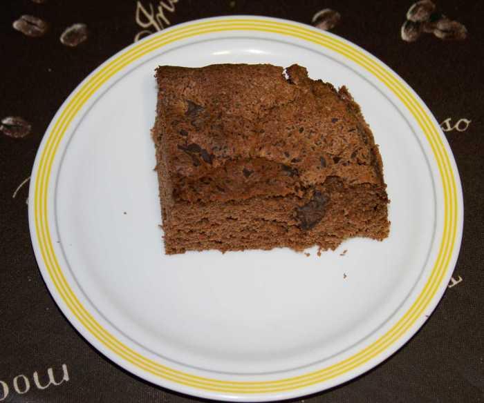 Bizcocho de chocolate 8