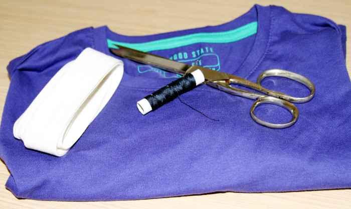 Cómo convertir camiseta de chico en una camiseta de chica