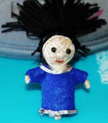 Muñeco voodoo de moros y cristianos
