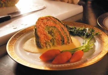 repollo relleno de salmón receta de la cocinera del presidente