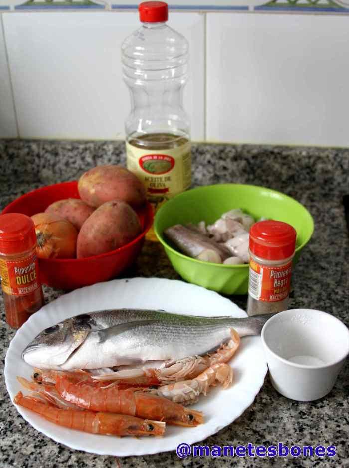 Caldereta de pescado
