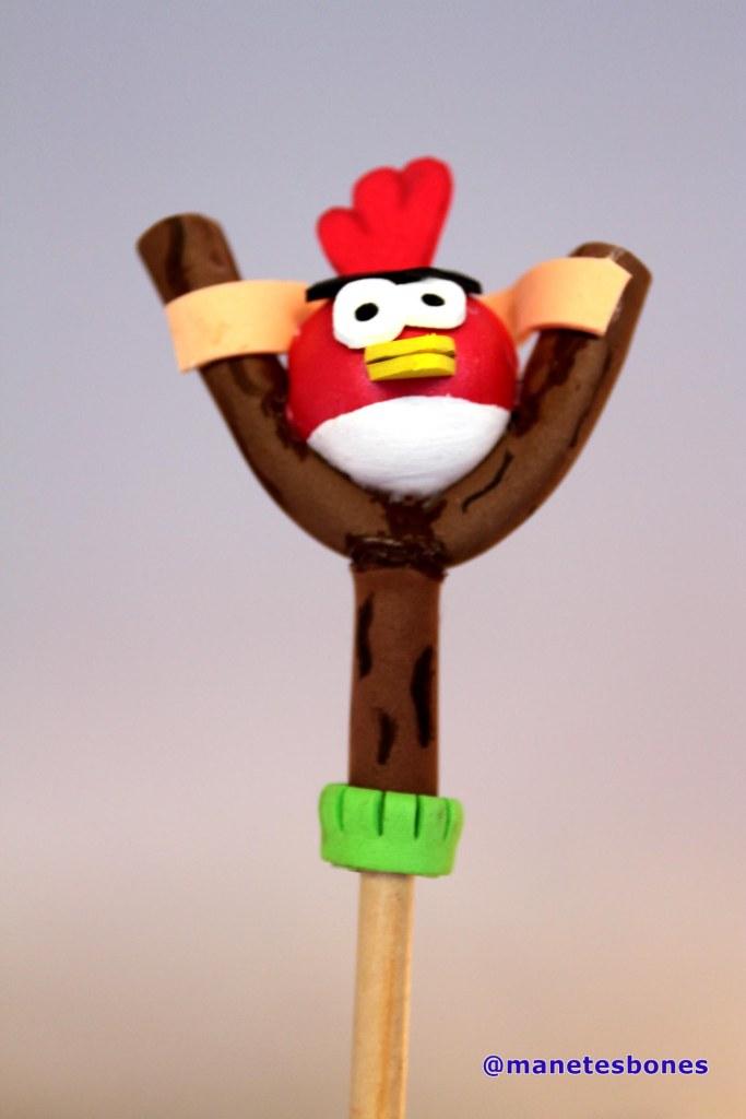 Fofulápiz Angry Birds Rojo