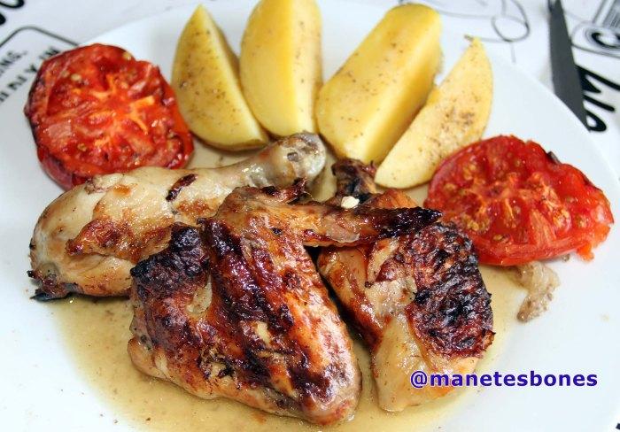 Pollo al horno.