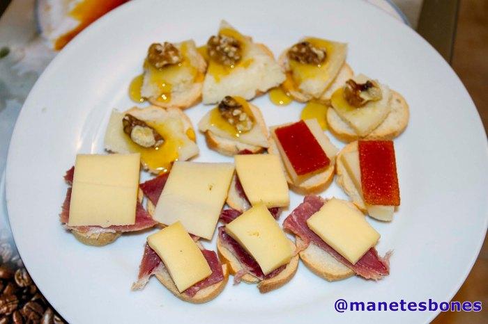 Tabla de quesos Gran Reserva Dehesa
