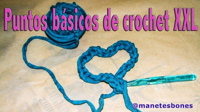 Punto básicos de crochet xxl