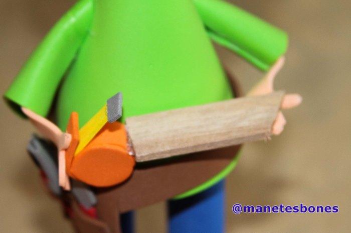 Fofucha carpintero