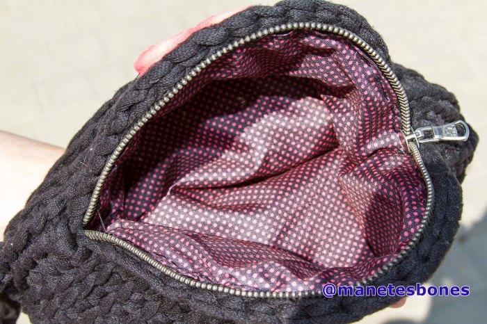 Bolso ovalado de trapillo