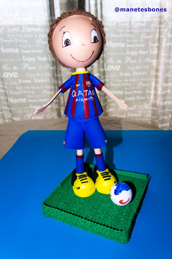 Fofucha fútbol club Barcelona 1