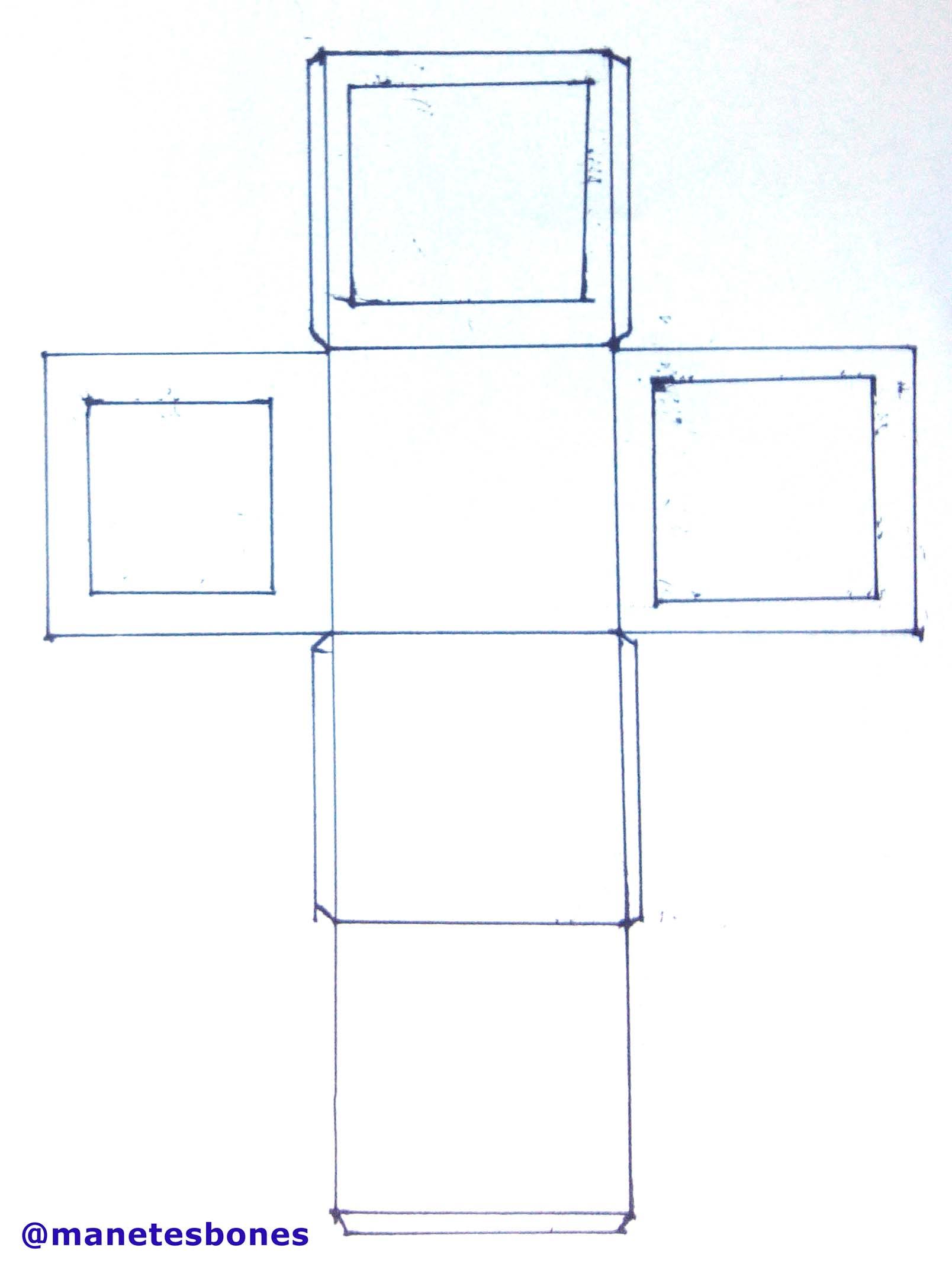 C mo hacer una caja para regalos con una cartulina - Guia para construir ...