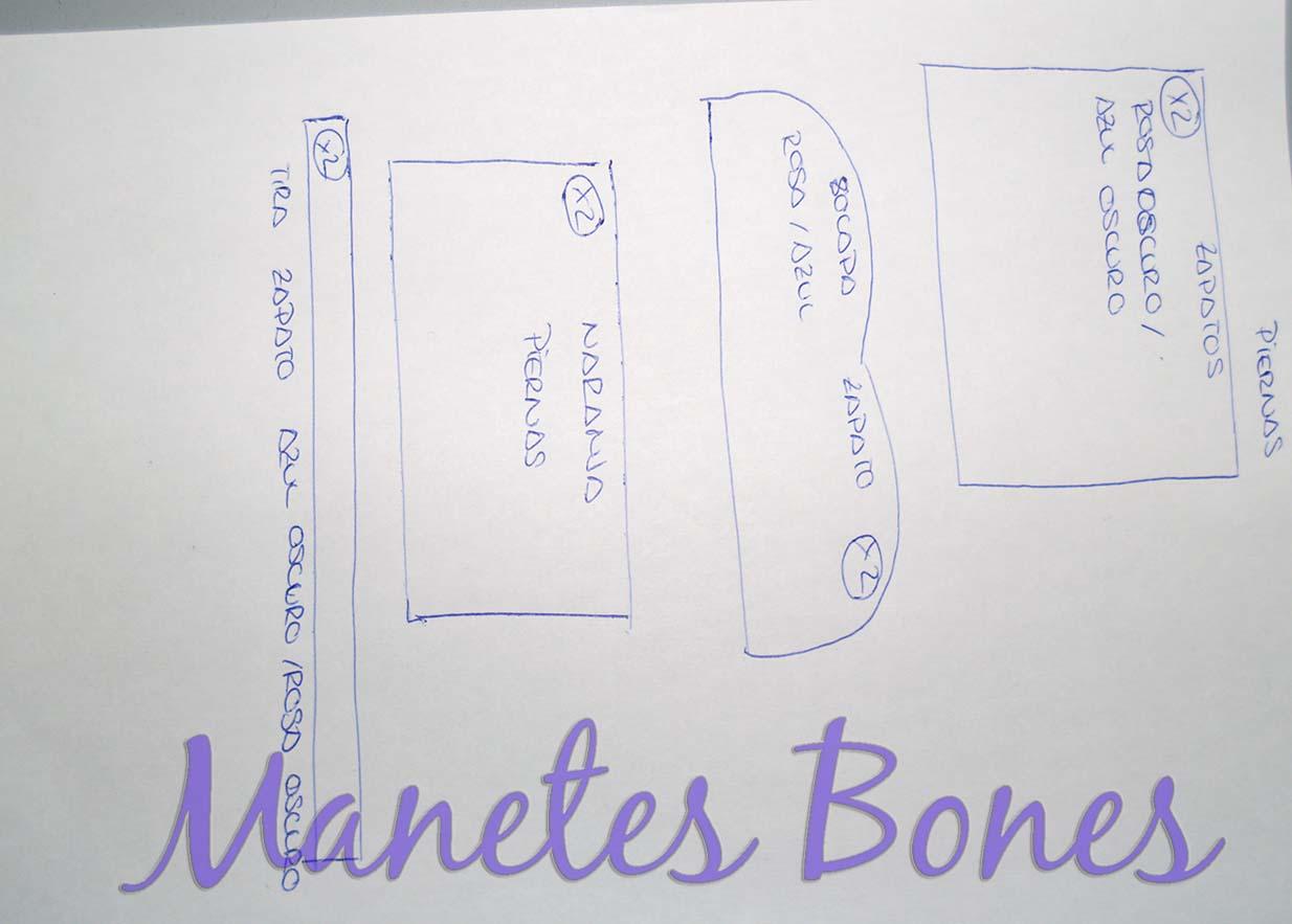 Cómo hacer una fofucha cigüeña con patrón | Manetes Bones