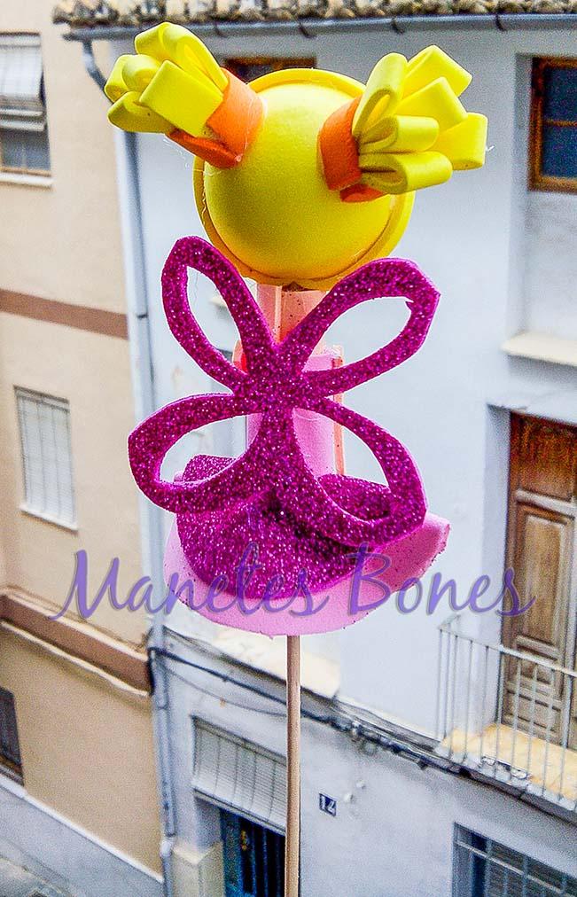 Fofucha hada flor