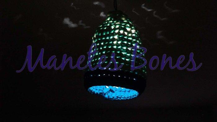 Lámpara de trapillo