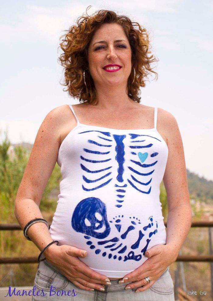 Cristina embarazada