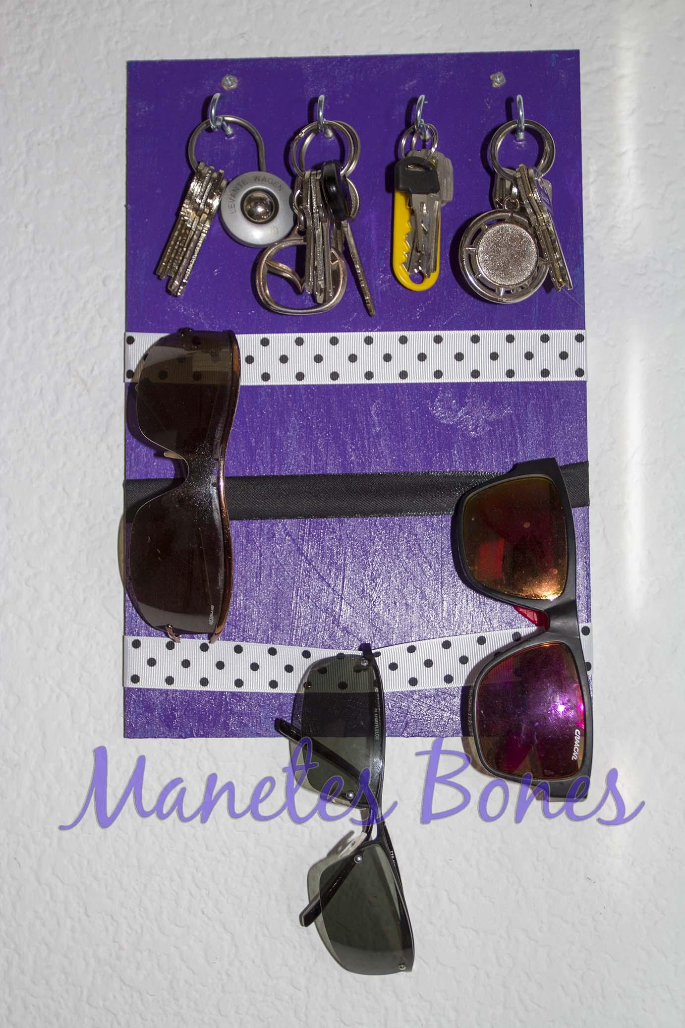 3ed7286f3a Cómo hacer un mueble sujeta llaves y gafas de sol | Videotutorial ...