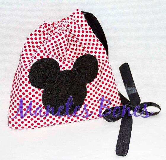 Saquito portameriendas de Mickey Mouse