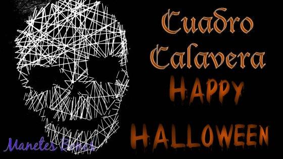 Cuadro Calavera Halloween