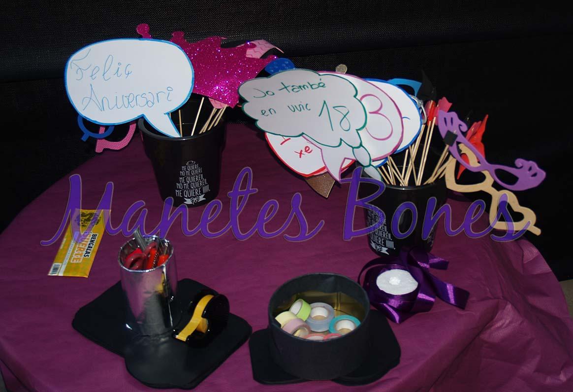 Decoraci n diy para fiestas de cumplea os manetes bones for Diy decoracion cumpleanos