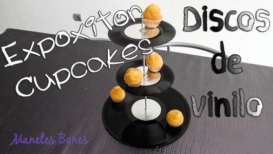 Expositor Magdalenas y Cupcakes