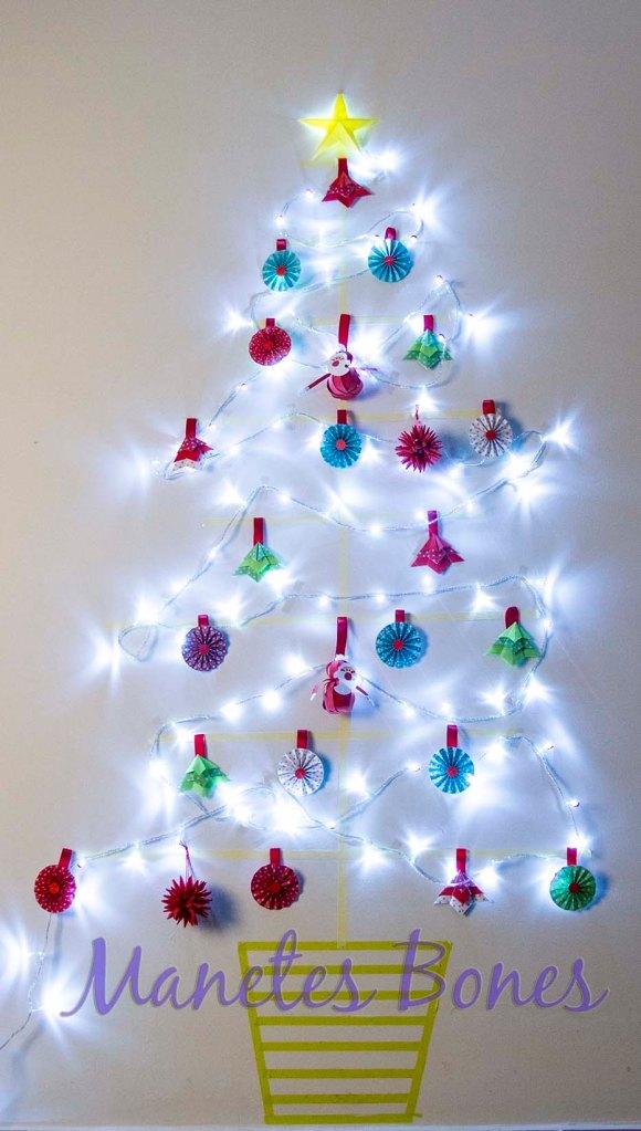 Árbol de Navidad de pared