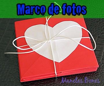 Marco álbum de fotos San Valentín