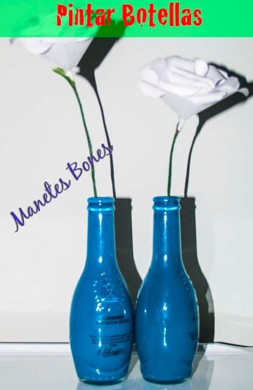 Pintar botellas