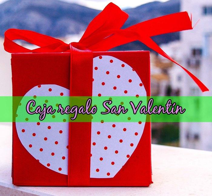 Caja de regalo de San Valentín
