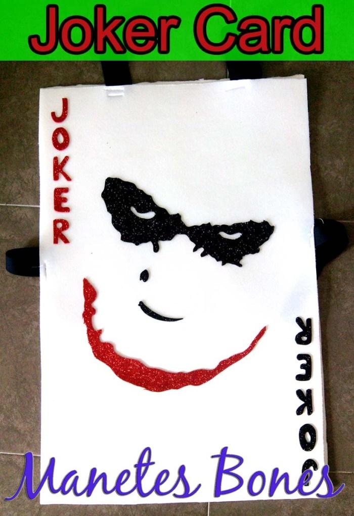 Carta del Joker Batman