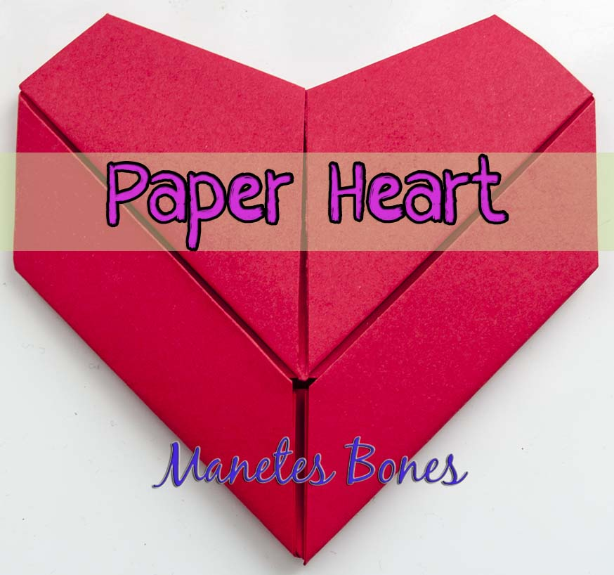 Ideas De San Valentin Episodio 11 Corazon De Origami Viernes De - Origami-corazn