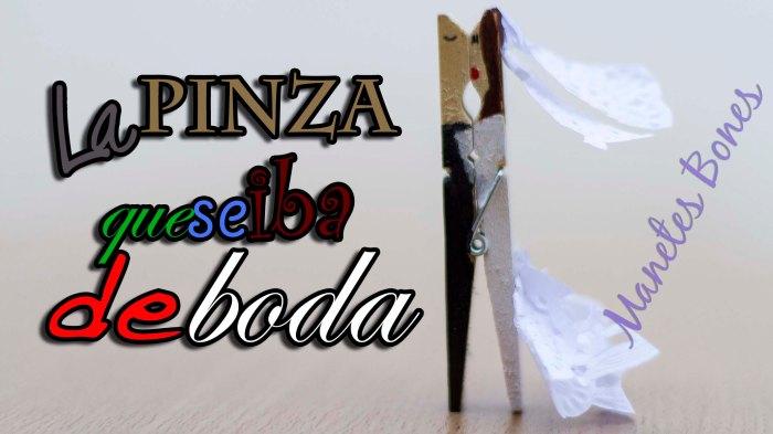 Pinza novios boda
