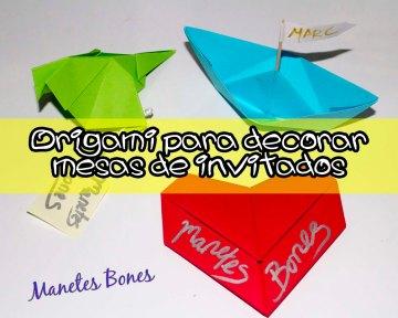 Origami para invitados