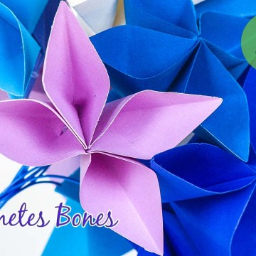 Flores de papel DIY