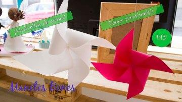 Molinillos de papel
